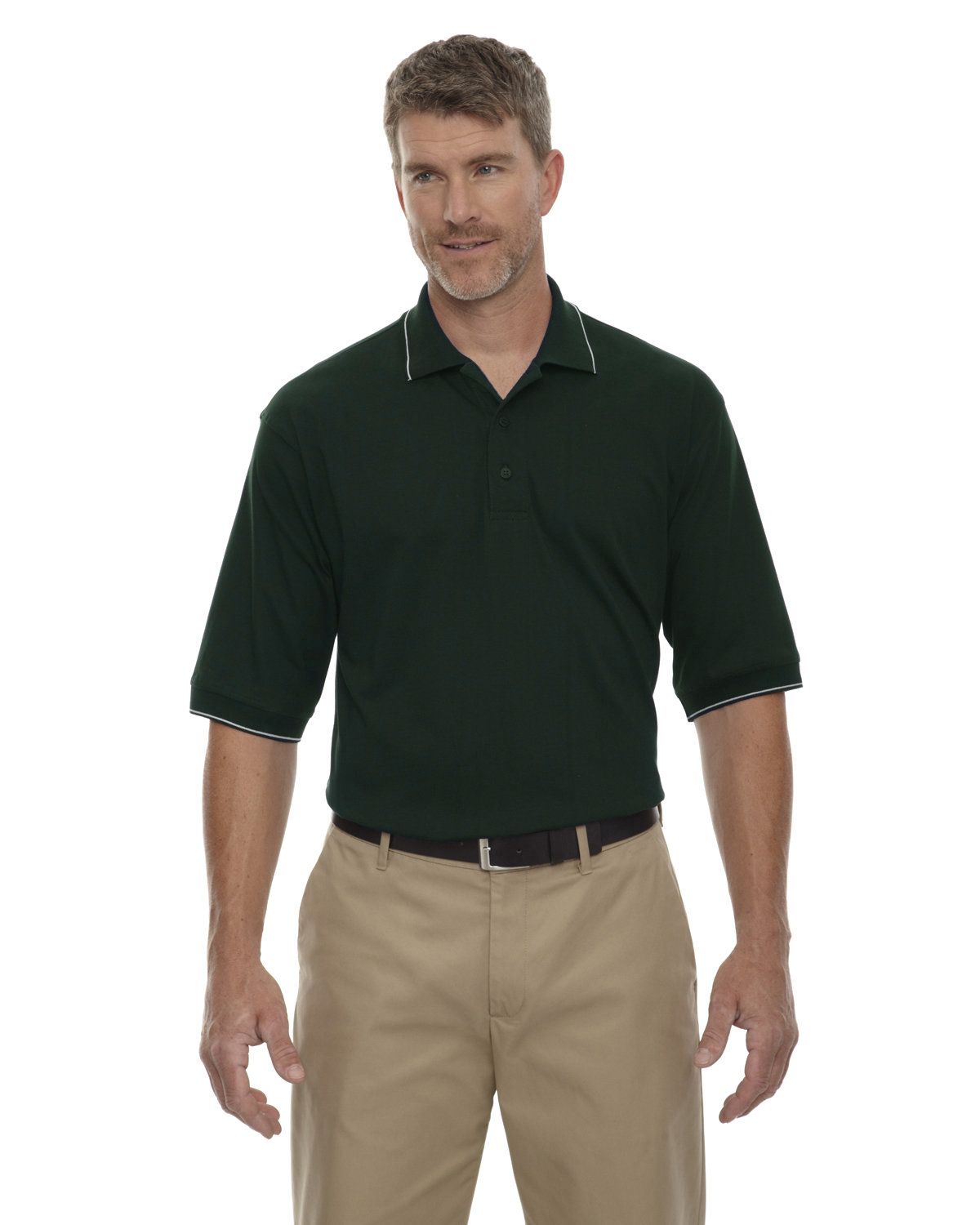 Extreme Men's Cotton Jersey Polo FOREST