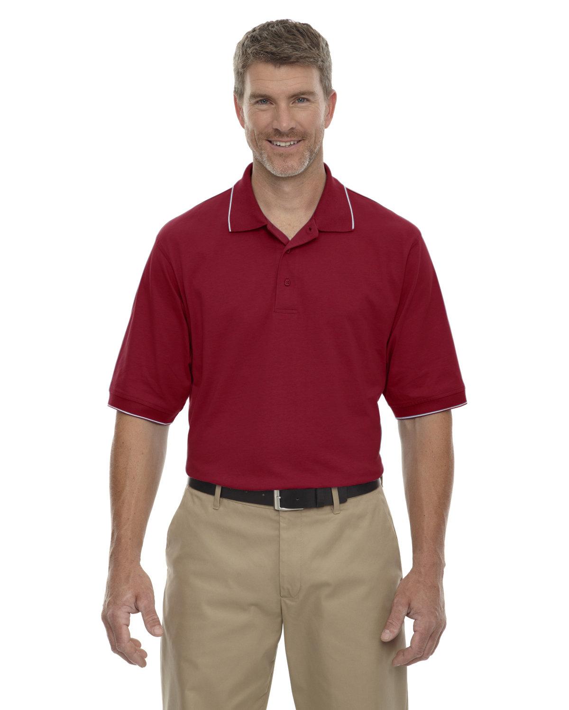 Extreme Men's Cotton Jersey Polo CRIMSON