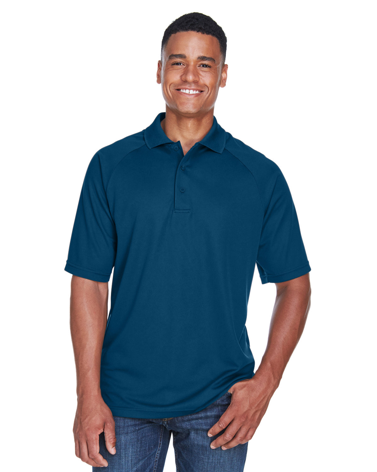 Extreme Men's Eperformance™ Piqué Polo CERAMIC BLUE