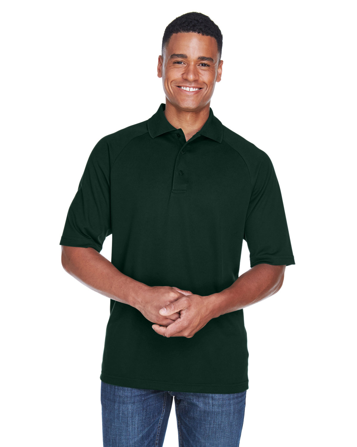 Extreme Men's Eperformance™ Piqué Polo FOREST