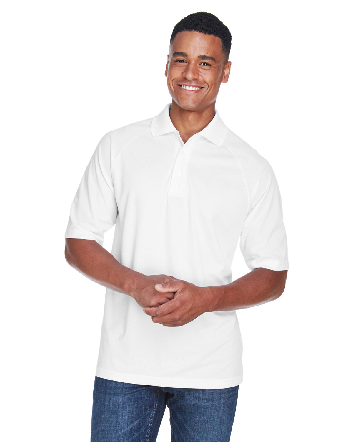 Extreme Men's Eperformance™ Piqué Polo WHITE