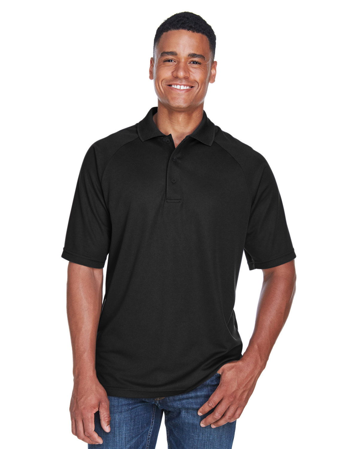 Extreme Men's Eperformance™ Piqué Polo BLACK