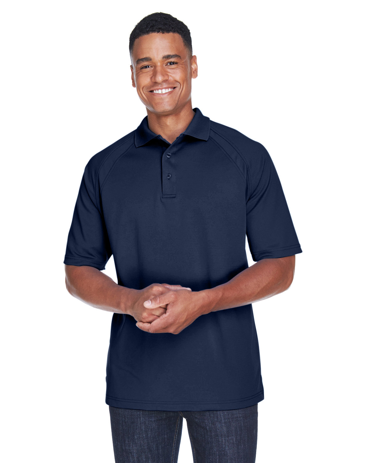 Extreme Men's Eperformance™ Ottoman Textured Polo CLASSIC NAVY