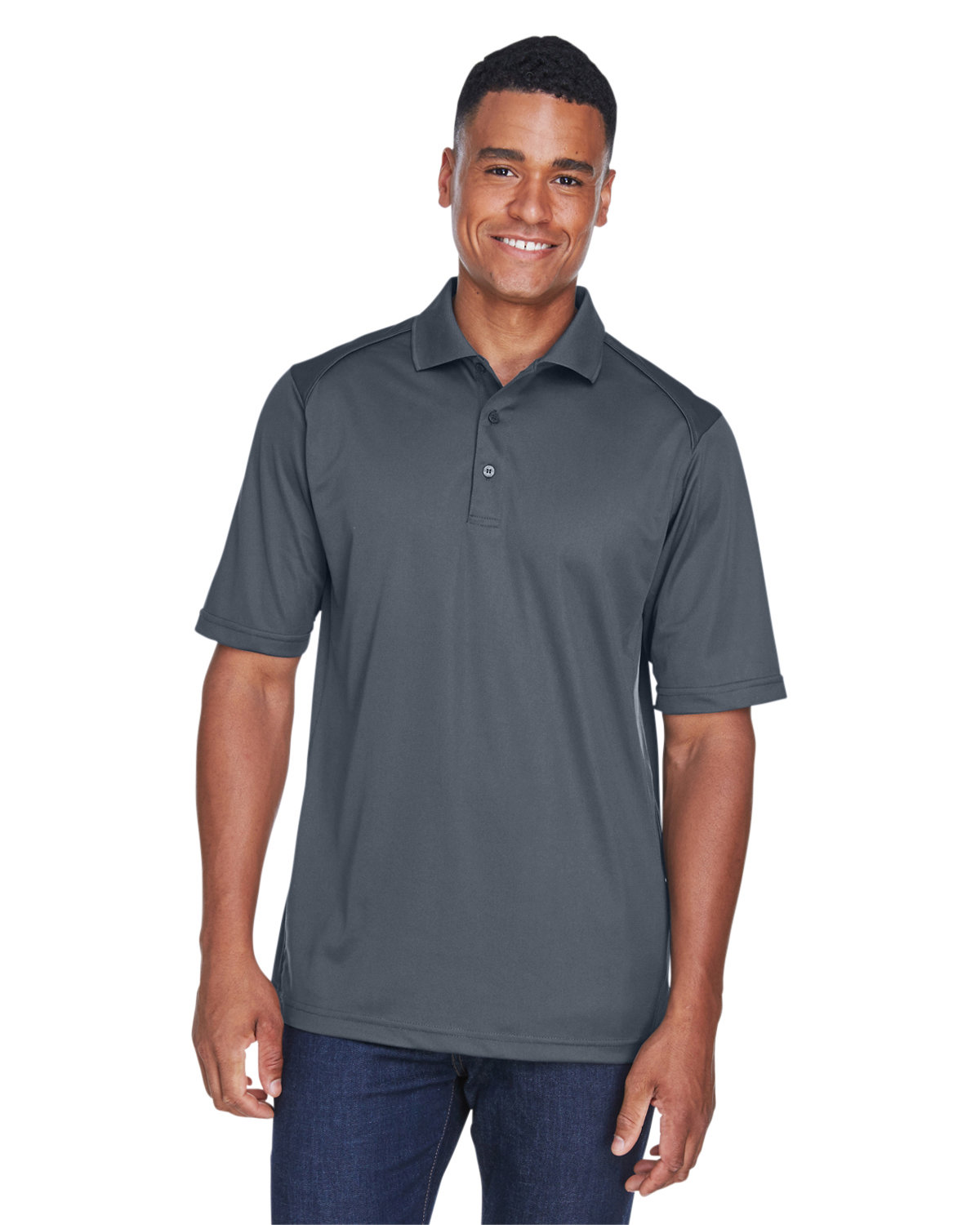 Extreme Men's Eperformance™ Shield Snag Protection Short-Sleeve Polo CARBON