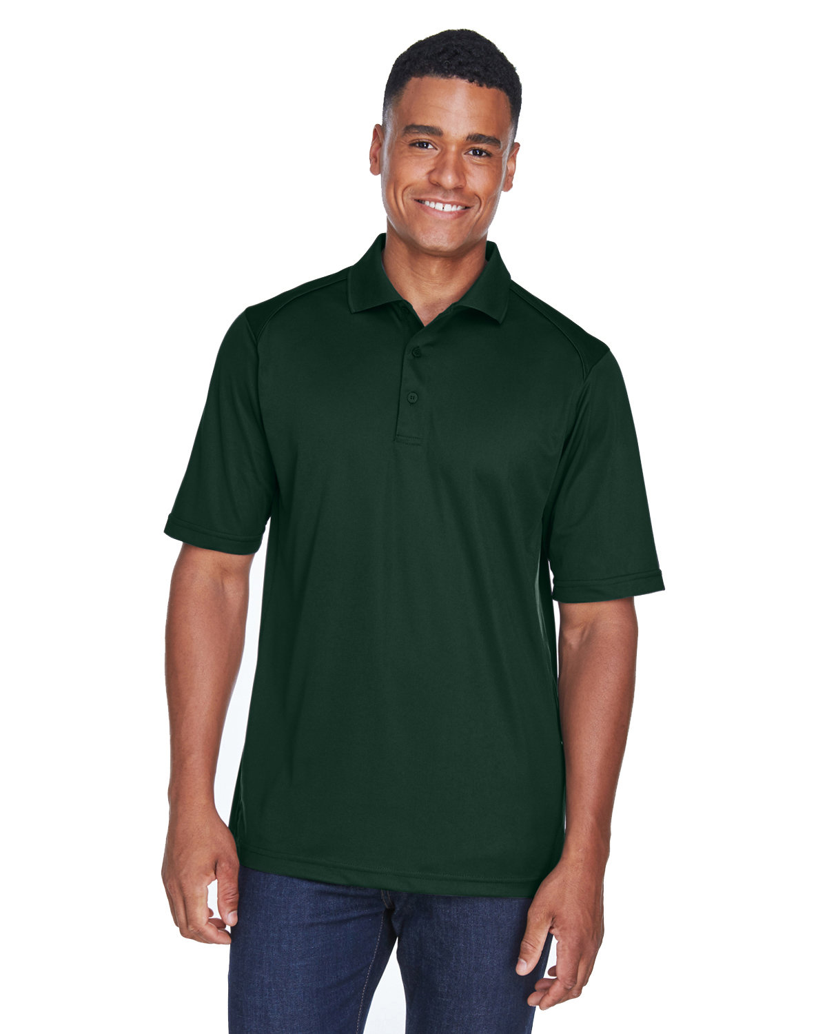 Extreme Men's Eperformance™ Shield Snag Protection Short-Sleeve Polo FOREST