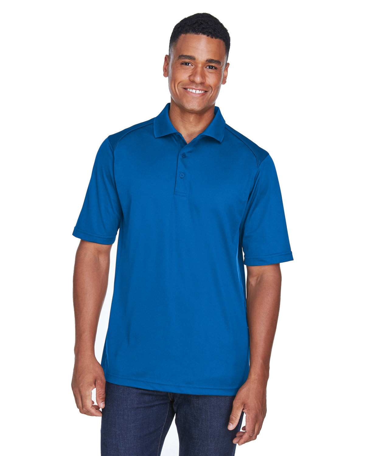 Extreme Men's Tall Eperformance™ Shield Snag Protection Short-Sleeve Polo TRUE ROYAL