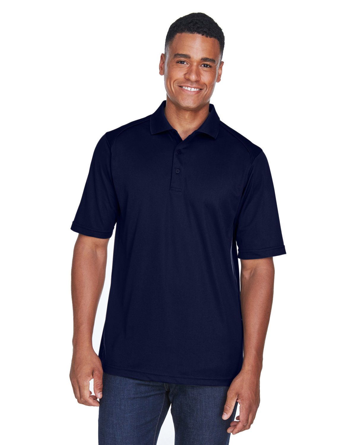 Extreme Men's Tall Eperformance™ Shield Snag Protection Short-Sleeve Polo CLASSIC NAVY