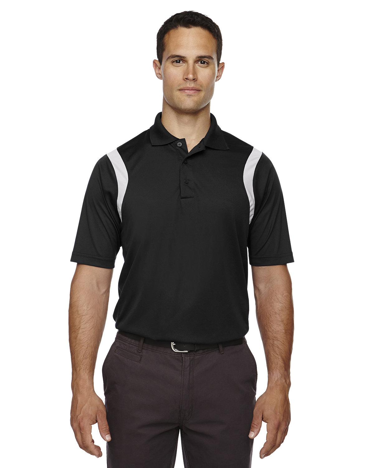 Extreme Men's Eperformance™ Venture Snag Protection Polo BLACK