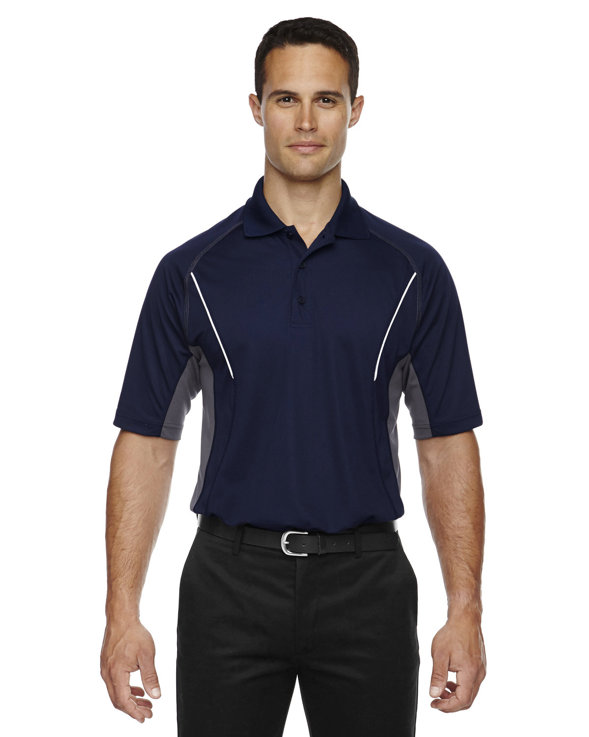 Extreme Men's Eperformance™ Parallel Snag Protection Polo with Piping CLASSIC NAVY