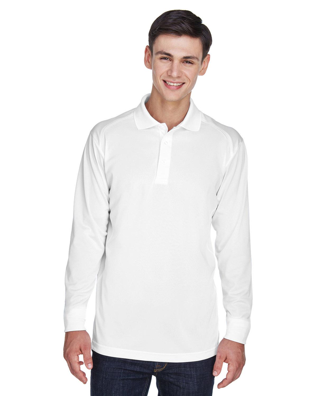 Extreme Men's Eperformance™ Snag Protection Long-Sleeve Polo WHITE