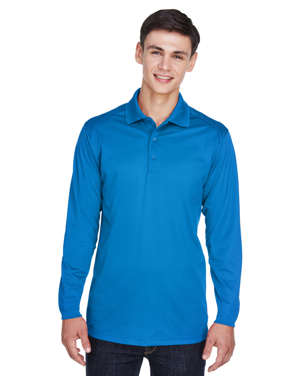 Extreme Men's Tall Eperformance™ Snag Protection Long-Sleeve Polo TRUE ROYAL
