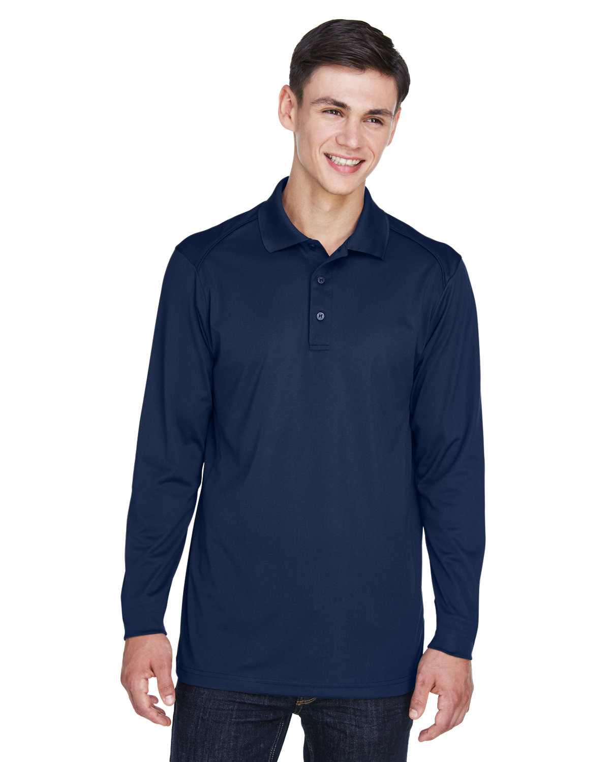 Extreme Men's Tall Eperformance™ Snag Protection Long-Sleeve Polo CLASSIC NAVY