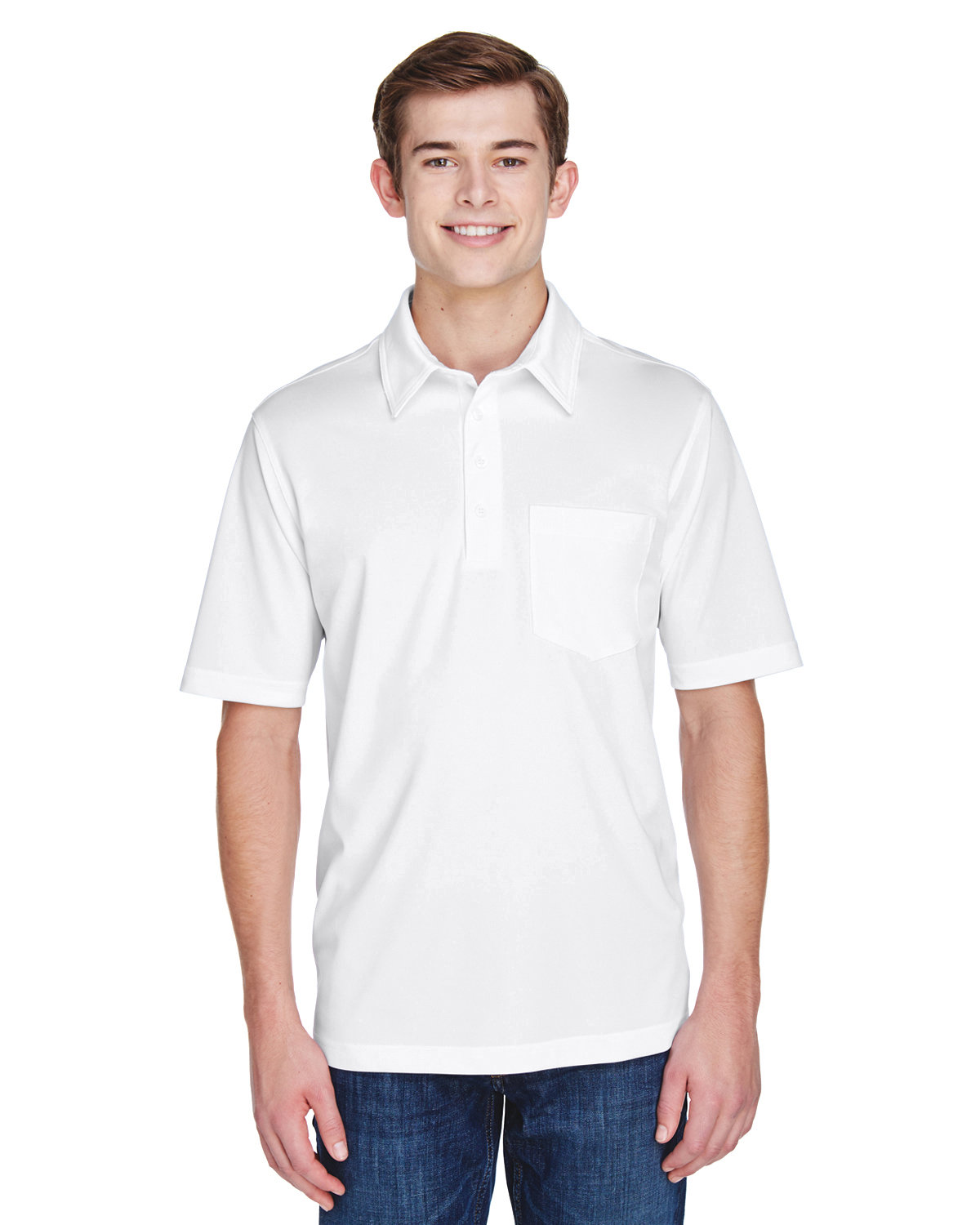 Extreme Men's Eperformance™ Shift Snag Protection Plus Polo WHITE