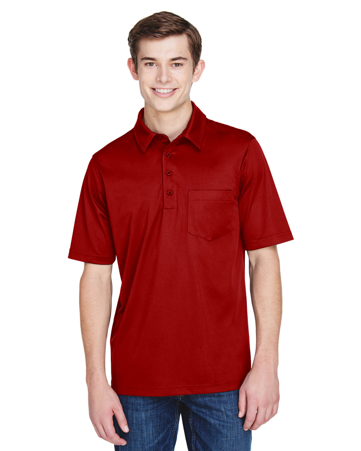 Extreme Men's Eperformance™ Shift Snag Protection Plus Polo CLASSIC RED