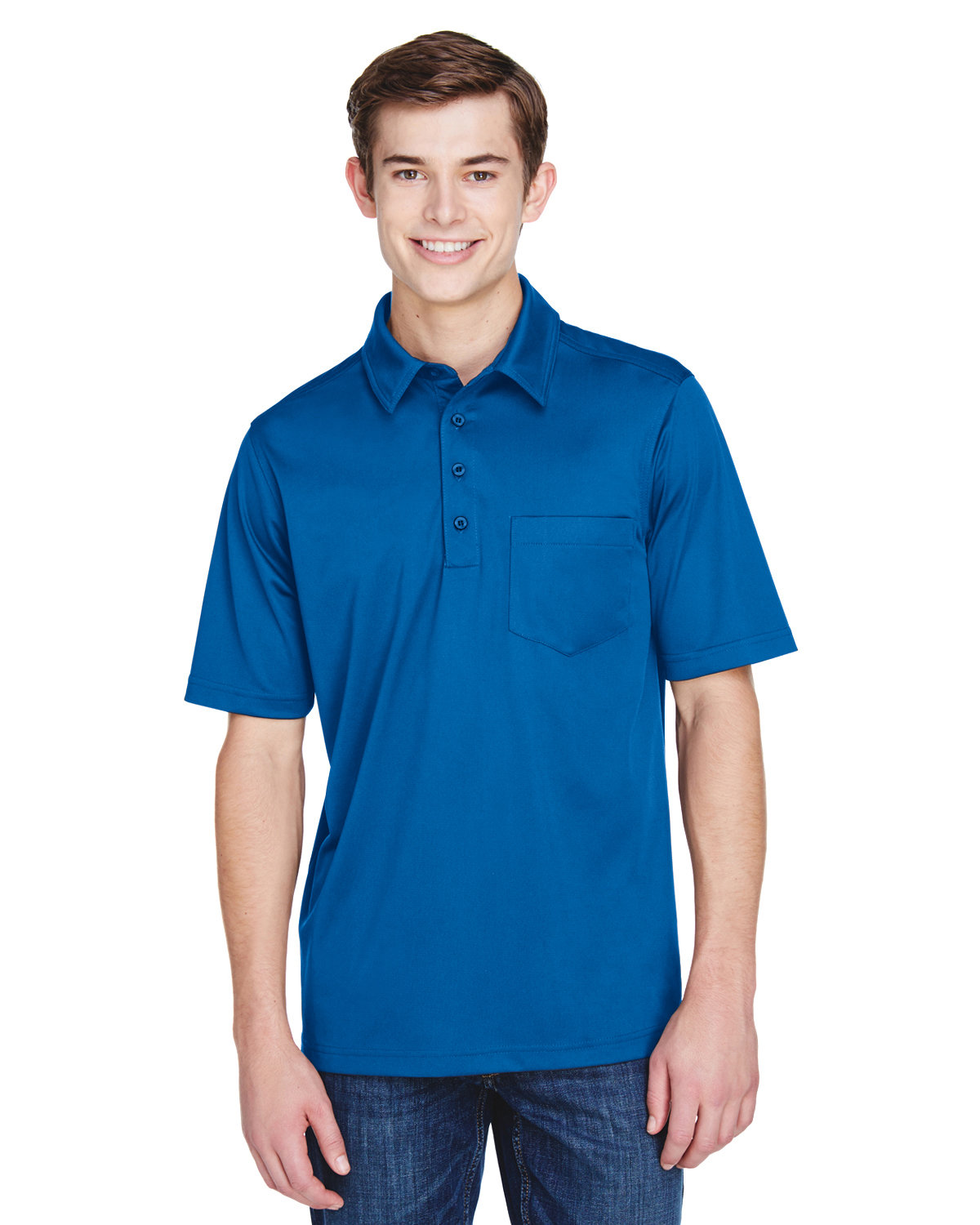Extreme Men's Tall Eperformance™ Shift Snag Protection Plus Polo TRUE ROYAL