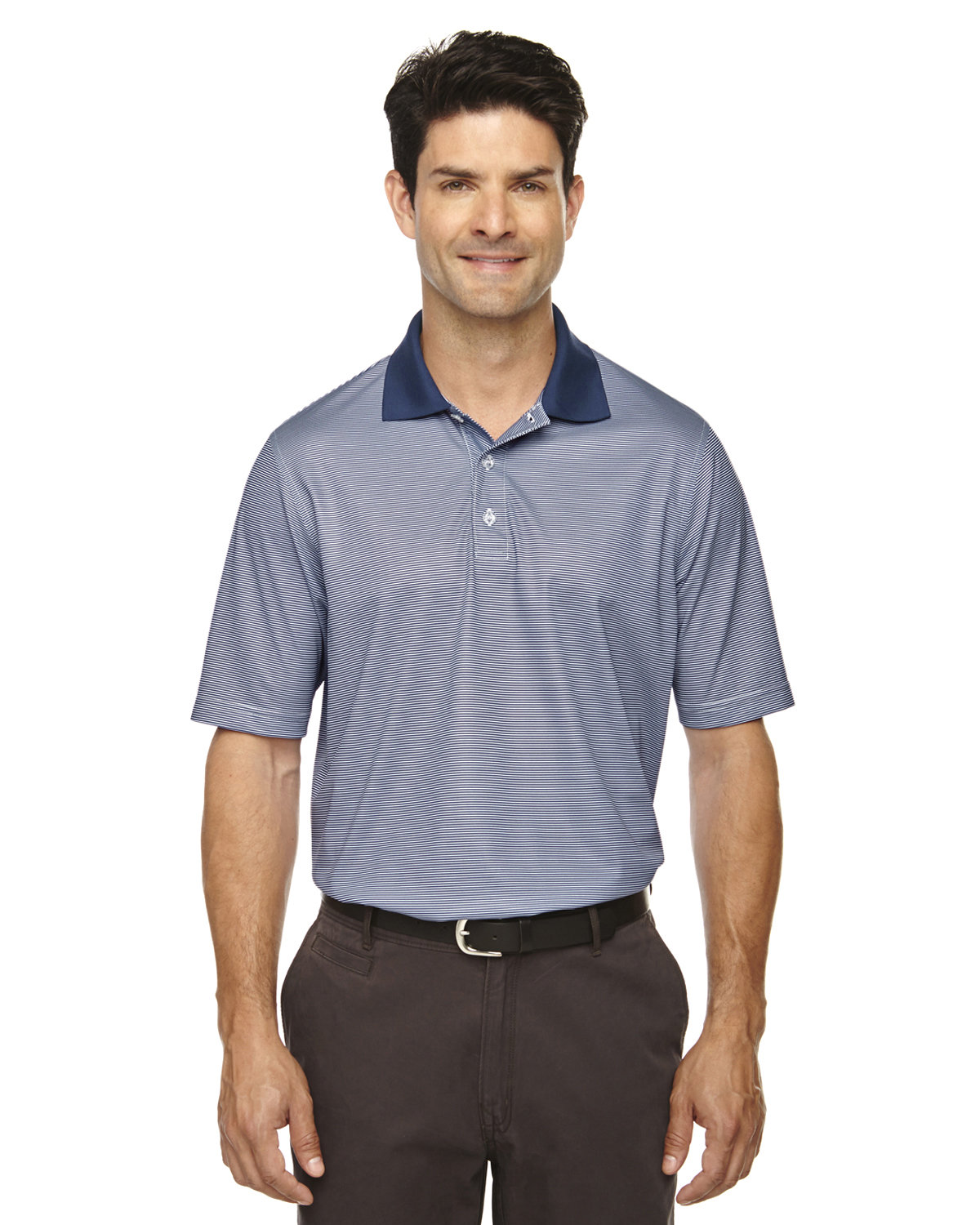 Extreme Men's Eperformance™ Launch Snag Protection Striped Polo CLASSIC NAVY
