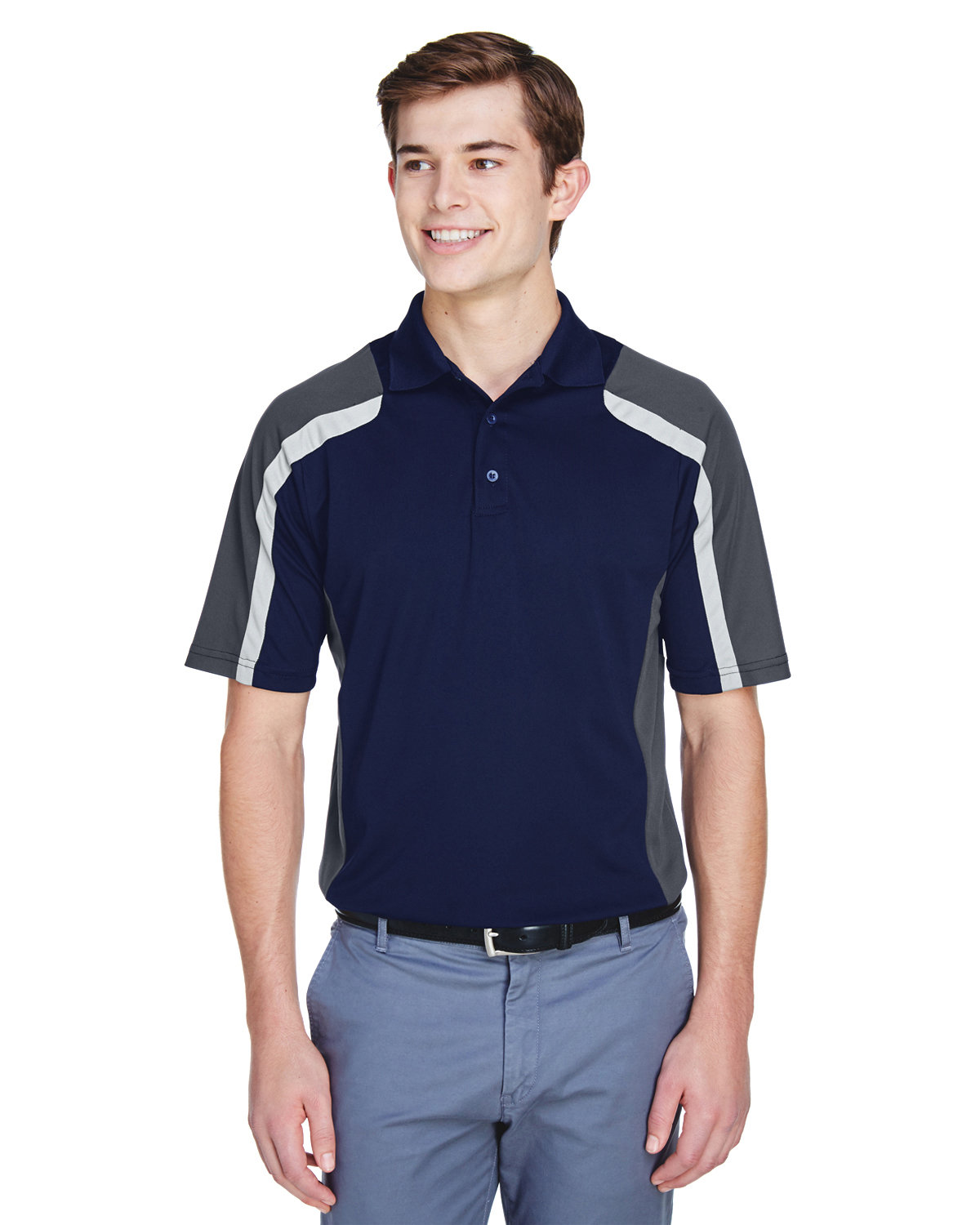 Extreme Men's Eperformance™ Strike Colorblock Snag Protection Polo CLASSIC NAVY