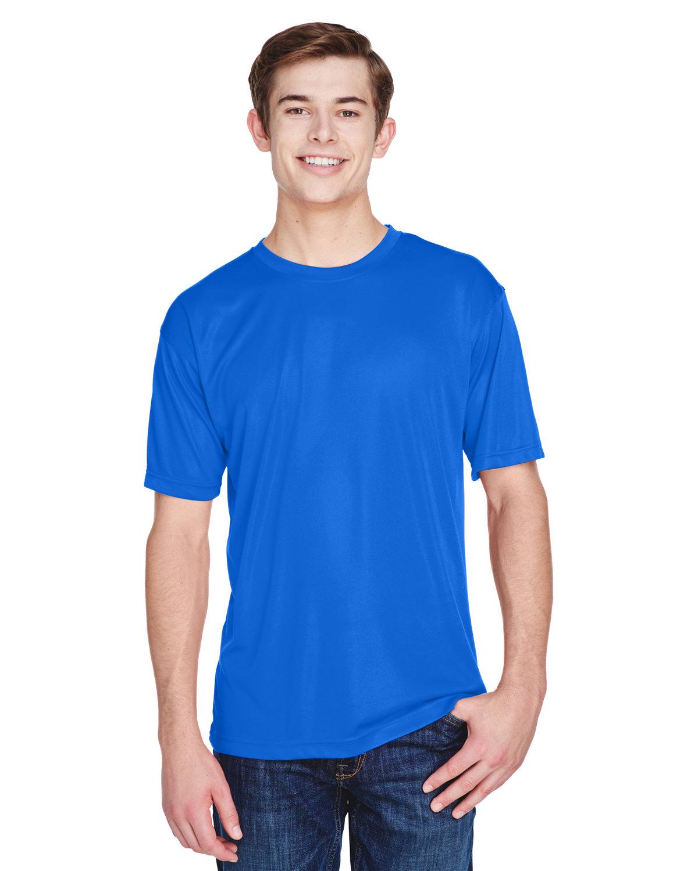 UltraClub Men's Cool & Dry Basic Performance T-Shirt ROYAL