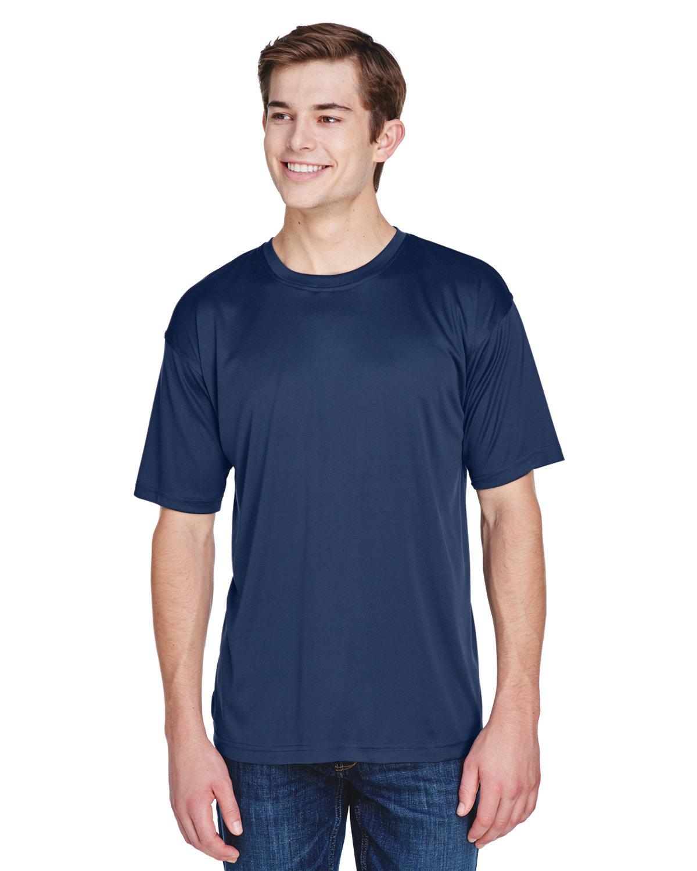 UltraClub Men's Cool & Dry Basic Performance T-Shirt NAVY