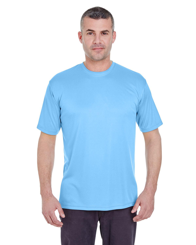 UltraClub Men's Cool & Dry Basic Performance T-Shirt COLUMBIA BLUE