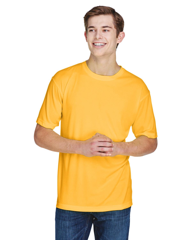 UltraClub Men's Cool & Dry Basic Performance T-Shirt GOLD