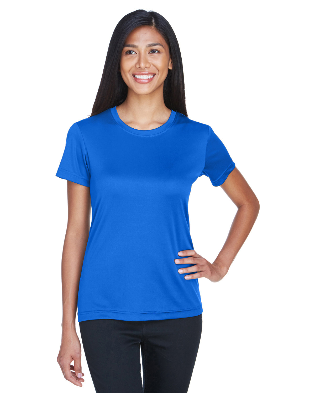 UltraClub Ladies' Cool & Dry Basic Performance T-Shirt ROYAL