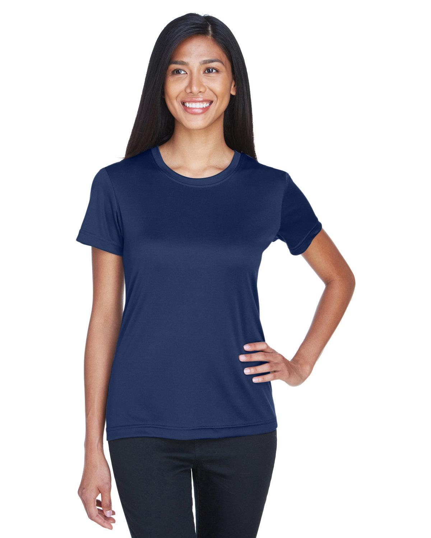UltraClub Ladies' Cool & Dry Basic Performance T-Shirt NAVY