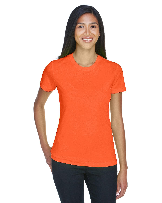 UltraClub Ladies' Cool & Dry Basic Performance T-Shirt BRIGHT ORANGE
