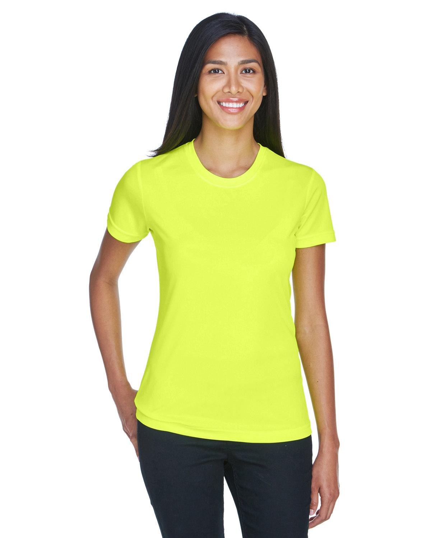 UltraClub Ladies' Cool & Dry Basic Performance T-Shirt BRIGHT YELLOW