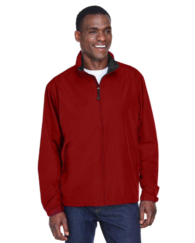 North End Men's Techno Lite Jacket MOLTEN RED