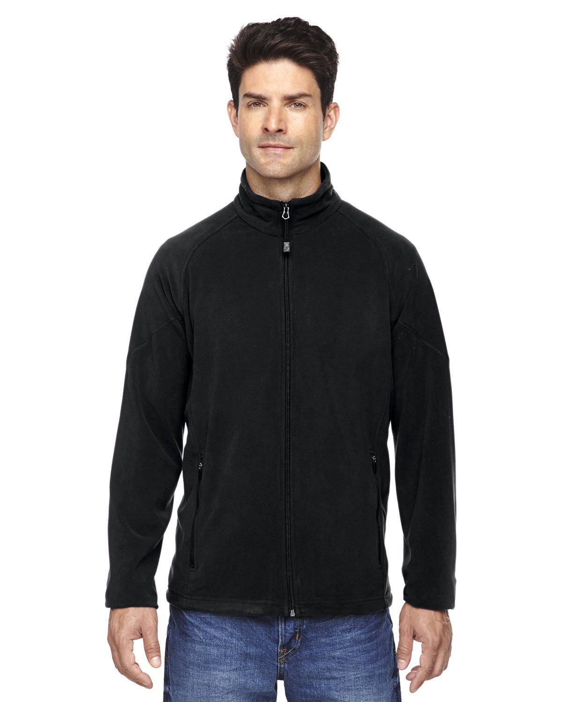 North End Men's Microfleece Unlined Jacket BLACK
