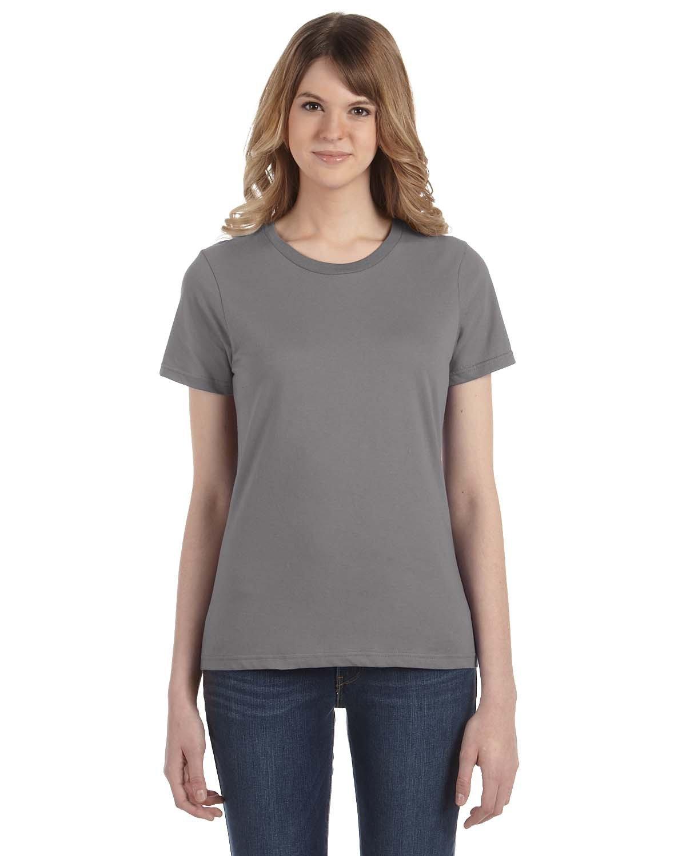 Anvil Ladies' Lightweight T-Shirt STORM GREY
