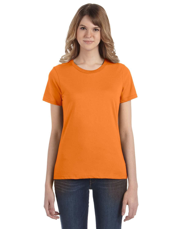 Anvil Ladies' Lightweight T-Shirt MANDARIN ORANGE