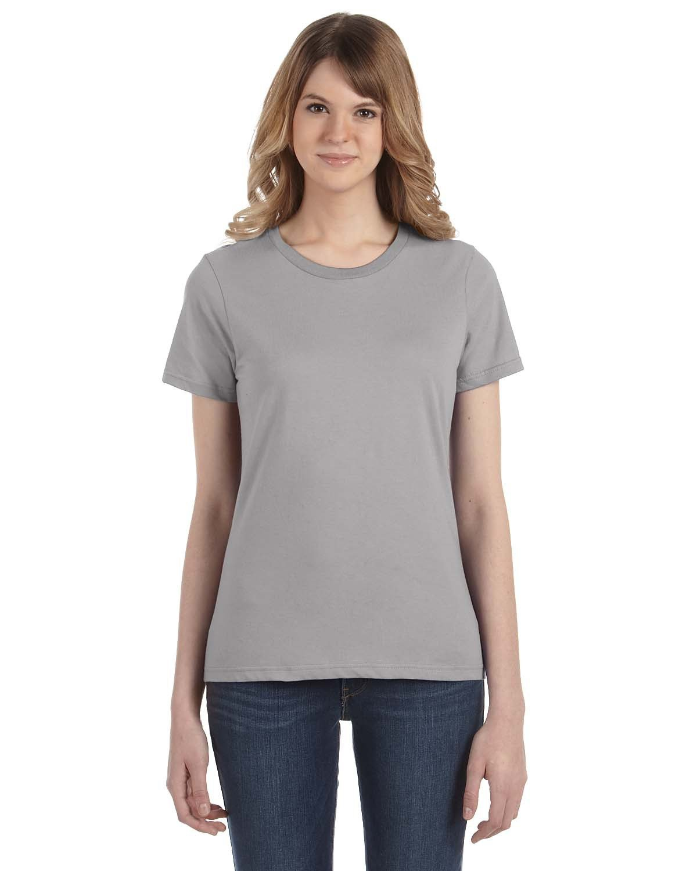 Anvil Ladies' Lightweight T-Shirt SILVER