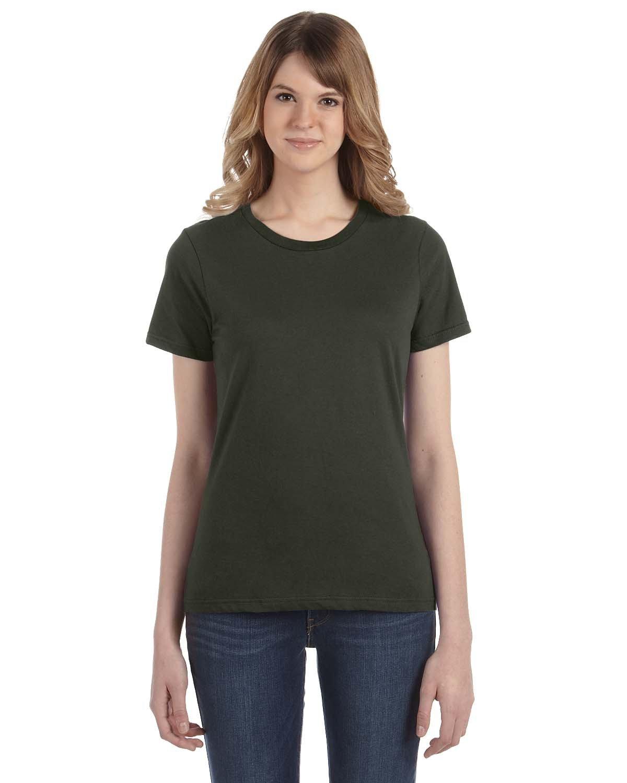 Anvil Ladies' Lightweight T-Shirt CITY GREEN