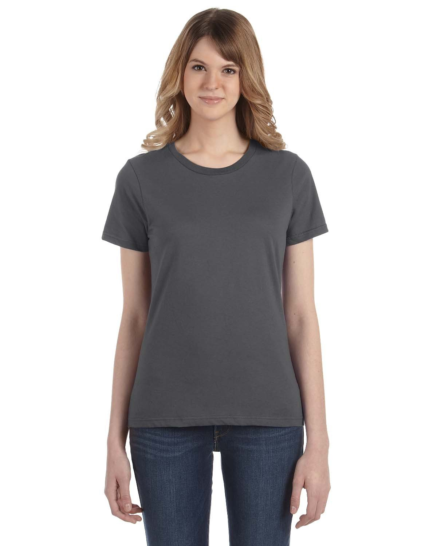 Anvil Ladies' Lightweight T-Shirt CHARCOAL