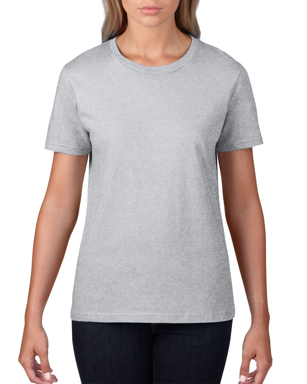 Anvil Ladies' Lightweight T-Shirt HEATHER GREY