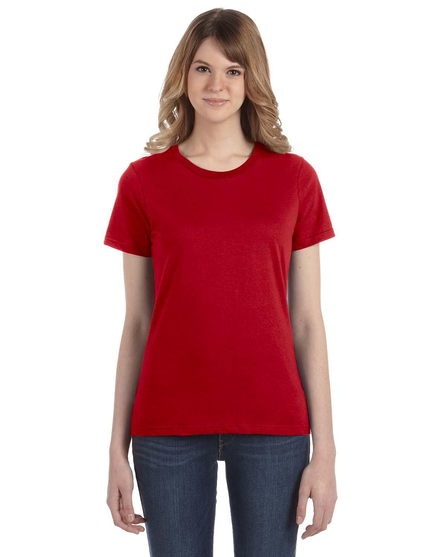 Anvil Ladies' Lightweight T-Shirt TRUE RED
