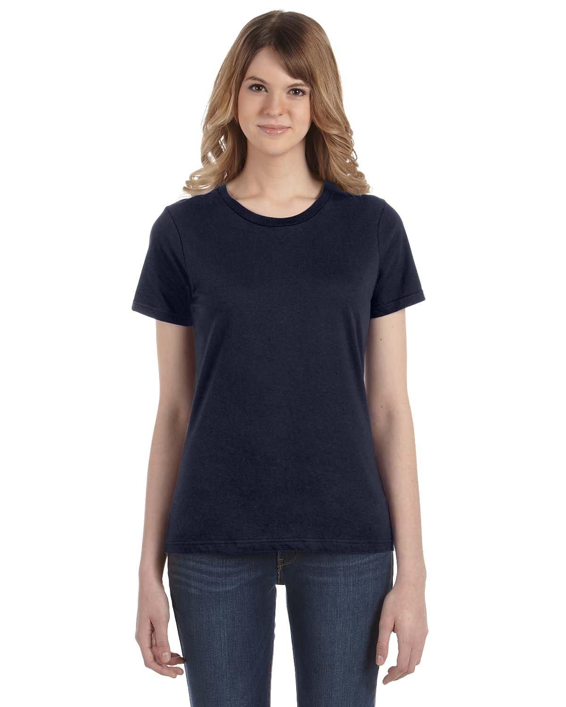 Anvil Ladies' Lightweight T-Shirt NAVY