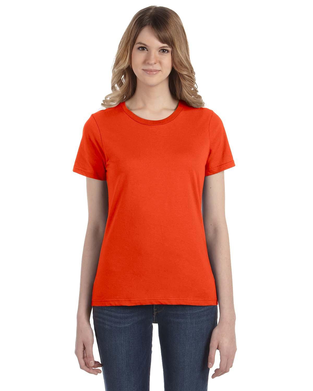 Anvil Ladies' Lightweight T-Shirt ORANGE