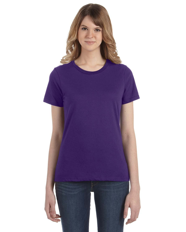 Anvil Ladies' Lightweight T-Shirt PURPLE