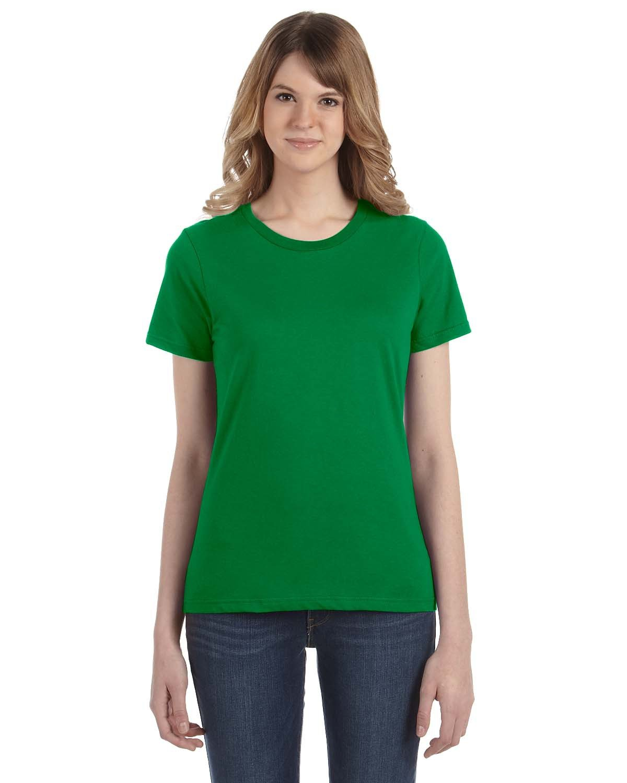 Anvil Ladies' Lightweight T-Shirt KELLY GREEN