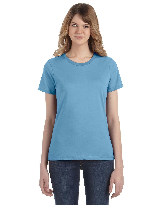 Anvil Ladies' Lightweight T-Shirt LIGHT BLUE