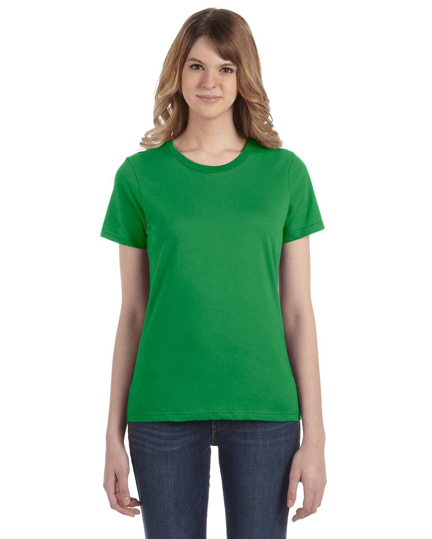 Anvil Ladies' Lightweight T-Shirt GREEN APPLE