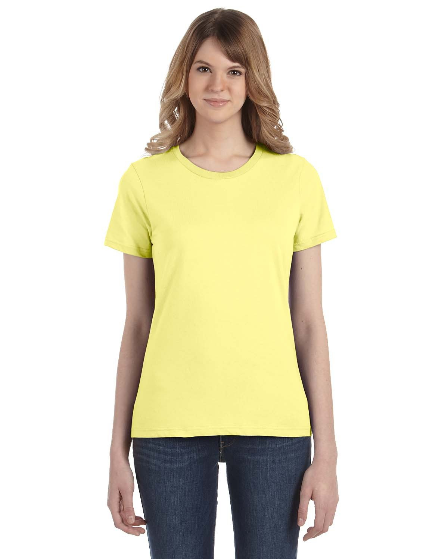 Anvil Ladies' Lightweight T-Shirt SPRING YELLOW