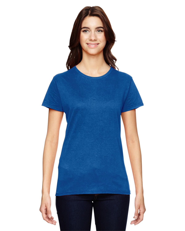 Anvil Ladies' Lightweight T-Shirt NEON BLUE