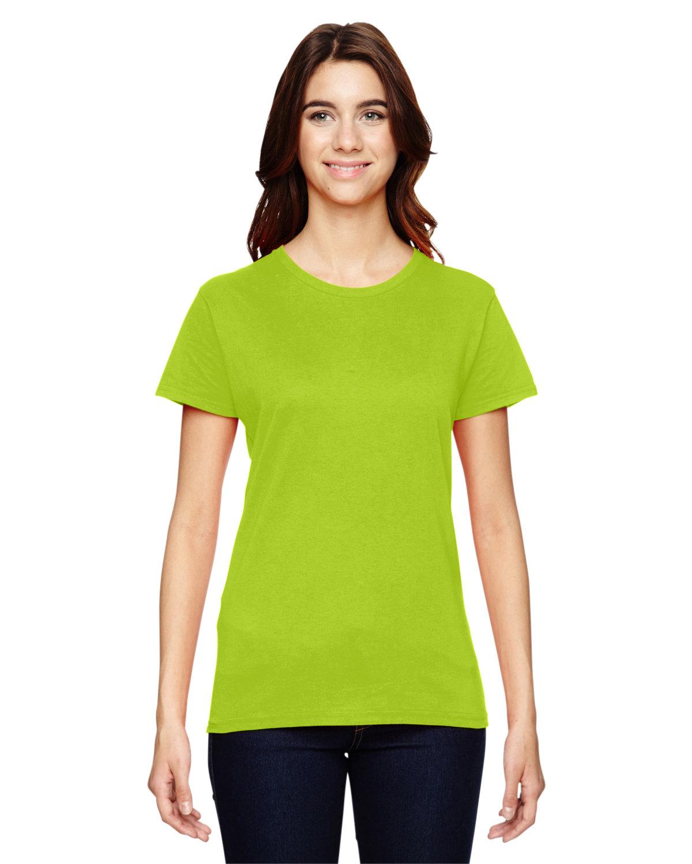Anvil Ladies' Lightweight T-Shirt NEON ORANGE