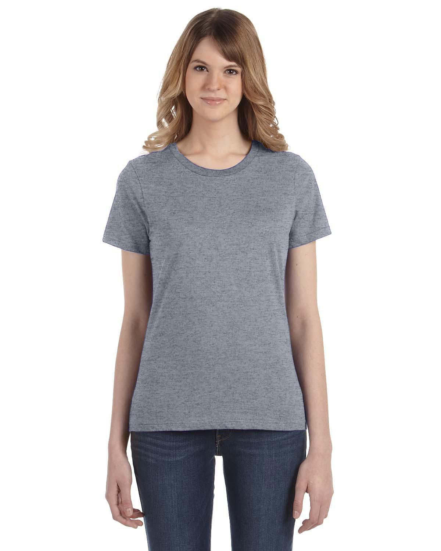 Anvil Ladies' Lightweight T-Shirt GRAPHITE HEATHER