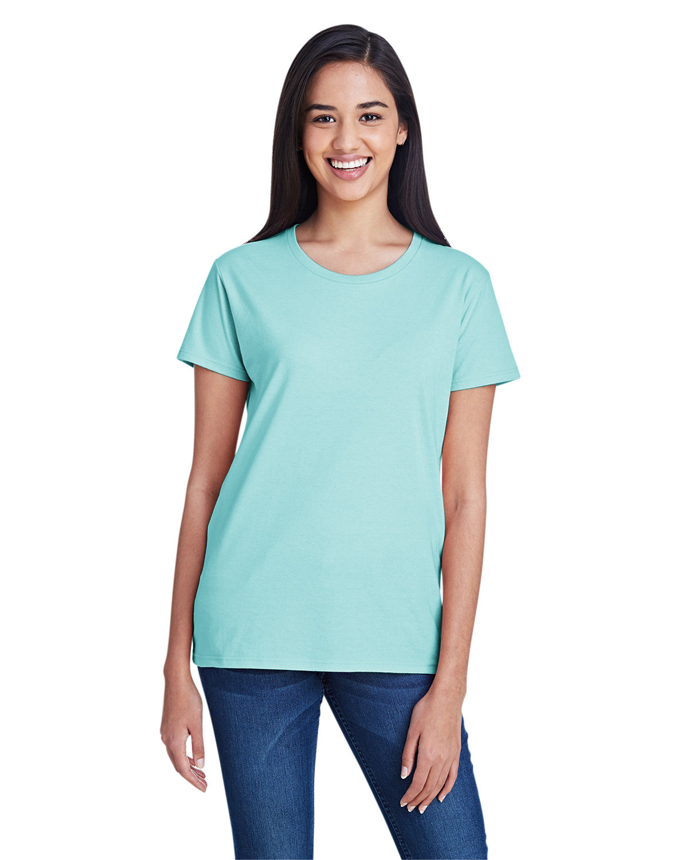 Anvil Ladies' Lightweight T-Shirt TEAL ICE
