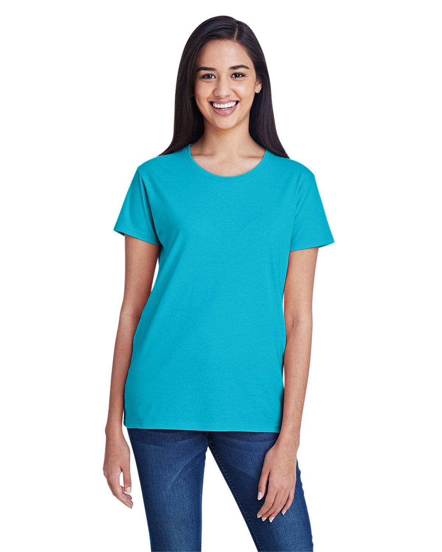 Anvil Ladies' Lightweight T-Shirt POOL BLUE